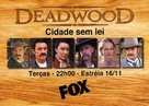 """Deadwood"" - Brazilian Movie Poster (xs thumbnail)"
