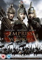 An Empress and the Warriors - British DVD cover (xs thumbnail)