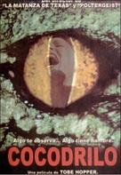 Crocodile - Spanish VHS movie cover (xs thumbnail)
