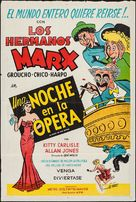 A Night at the Opera - Argentinian Movie Poster (xs thumbnail)