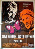 Papillon - Italian Movie Poster (xs thumbnail)