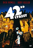 42nd Street - DVD movie cover (xs thumbnail)