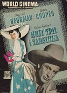 Saratoga Trunk - Danish Movie Poster (xs thumbnail)