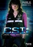"""CSI: Crime Scene Investigation"" - Brazilian DVD movie cover (xs thumbnail)"