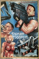 Starship Troopers 2 - Ghanian Movie Poster (xs thumbnail)