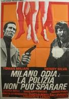 Milano odia: la polizia non può sparare - Italian Movie Poster (xs thumbnail)