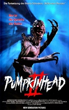 Pumpkinhead II: Blood Wings - German VHS cover (xs thumbnail)