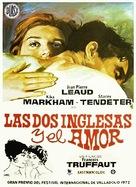 Deux anglaises et le continent, Les - Spanish Movie Poster (xs thumbnail)