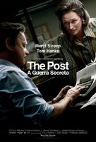 The Post - Brazilian Movie Poster (xs thumbnail)