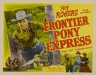 Frontier Pony Express - Movie Poster (xs thumbnail)