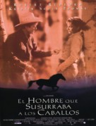 The Horse Whisperer - Spanish Movie Poster (xs thumbnail)