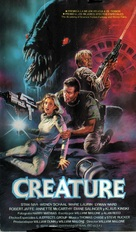 Creature - Spanish VHS cover (xs thumbnail)
