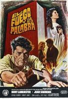 Elmer Gantry - Spanish Movie Poster (xs thumbnail)