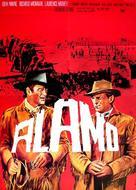 The Alamo - German Movie Poster (xs thumbnail)