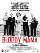 Bloody Mama - French Movie Poster (xs thumbnail)