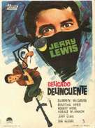 The Delicate Delinquent - Spanish Movie Poster (xs thumbnail)