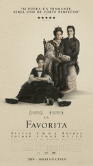 The Favourite - Argentinian Movie Poster (xs thumbnail)