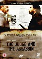 Juge et l'assassin, Le - British DVD cover (xs thumbnail)
