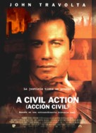 A Civil Action - Spanish Movie Poster (xs thumbnail)