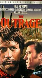 The Outrage - VHS cover (xs thumbnail)