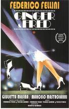 Ginger e Fred - Spanish Movie Poster (xs thumbnail)