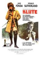 Klute - Spanish Movie Poster (xs thumbnail)