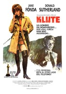 Klute - Spanish Movie Poster (xs thumbnail)