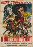 The Westerner - Italian Movie Poster (xs thumbnail)