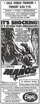 Manos: The Hands of Fate - Movie Poster (xs thumbnail)