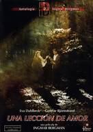 Lektion i kärlek, En - Spanish DVD cover (xs thumbnail)
