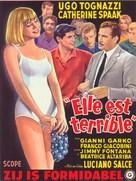 La voglia matta - Belgian Movie Poster (xs thumbnail)