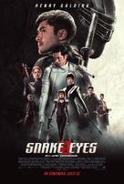 Snake Eyes: G.I. Joe Origins - Singaporean Movie Poster (xs thumbnail)