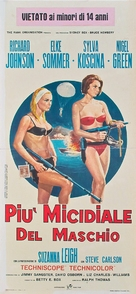 Deadlier Than the Male - Italian Movie Poster (xs thumbnail)