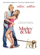Marley & Me - Danish Movie Poster (xs thumbnail)