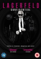 Lagerfeld Confidentiel - British DVD cover (xs thumbnail)