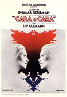 Ansikte mot ansikte - Spanish Movie Poster (xs thumbnail)
