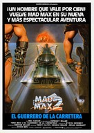Mad Max 2 - Spanish Movie Poster (xs thumbnail)