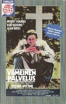 A Prayer for the Dying - Finnish VHS movie cover (xs thumbnail)