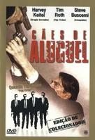 Reservoir Dogs - Brazilian DVD movie cover (xs thumbnail)