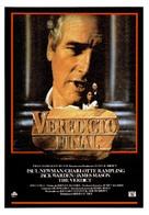 The Verdict - Spanish Movie Poster (xs thumbnail)