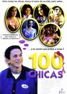 100 Girls - Spanish Movie Poster (xs thumbnail)