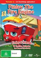 """Finley the Fire Engine"" - Australian DVD cover (xs thumbnail)"