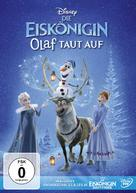 Olaf's Frozen Adventure - German DVD movie cover (xs thumbnail)