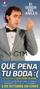 Que pena tu boda - Chilean Movie Poster (xs thumbnail)