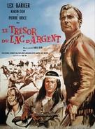 Der Schatz im Silbersee - French Movie Poster (xs thumbnail)