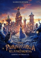 The Nutcracker and the Four Realms - Finnish Movie Poster (xs thumbnail)