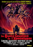 The Four Horsemen of the Apocalypse - French Movie Poster (xs thumbnail)