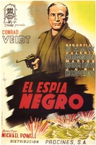 The Spy in Black - Spanish Movie Poster (xs thumbnail)