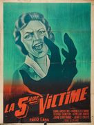 While the City Sleeps - French Movie Poster (xs thumbnail)