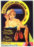 The Seven Year Itch - Spanish Movie Poster (xs thumbnail)